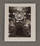 "Photo of ""Steam in the Roundhouse"" Notecard"