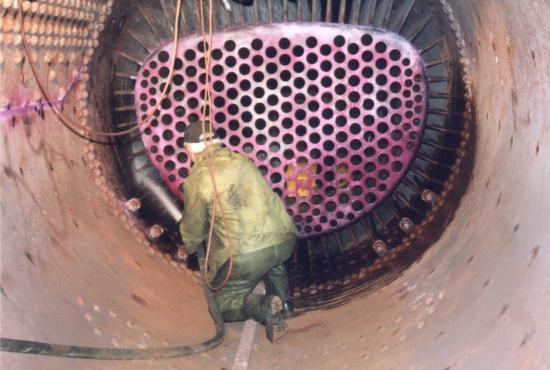 SP&S 700 Boiler Rebuild and Inspection of 2000